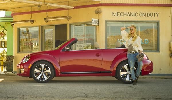 VW Beetle Cabrio