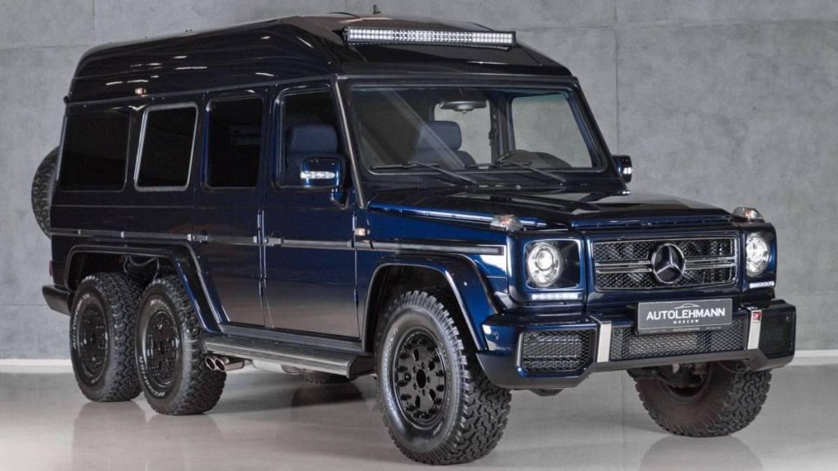 Este es el primer mercedes clase g 63 amg 6x6 for Mercedes benz 6x6 precio
