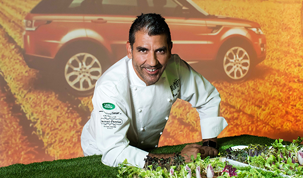 Paco Roncero Land Rover