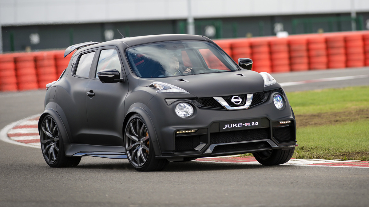 prueba nissan juke r 2 0 el super crossover. Black Bedroom Furniture Sets. Home Design Ideas