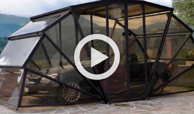 Un garaje m vil para aparcar tu coche tecnolog a - Garaje para coches ...