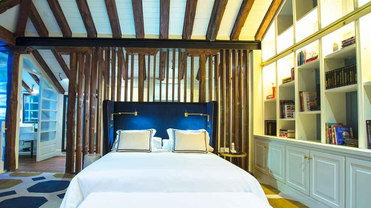 Los cinco mejores hoteles de lujo de madrid for Hoteles de lujo en espana ofertas