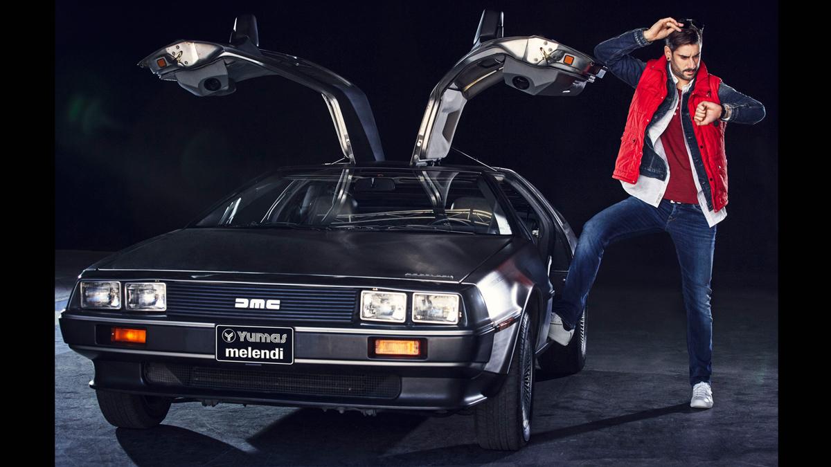 Melendi, el nuevo Marty McFly de 'Regreso al Futuro ...