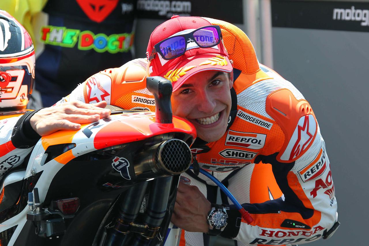 Marc m rquez logra su victoria n mero 50 motos - Patinete electrico marc marquez ...