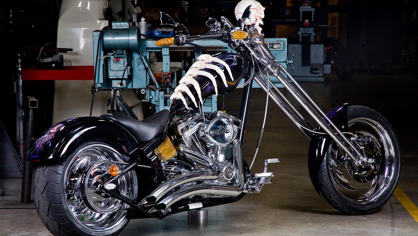 Motos para morirse de miedo en Halloween -- Motos ...