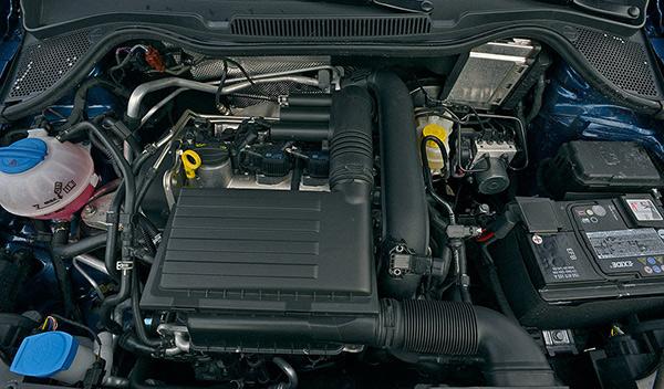 VW Polo BlueGT motor