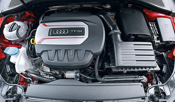 Audi S3 Limousine motor