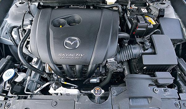 Mazda CX-3 motor