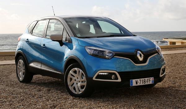 SUV menos cualidades off road Renault captur