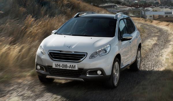 SUV menos cualidades off road Peugeot 2008