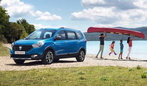 mejores coches nuevos de entre 10.000 15.000 euros Dacia Lodgy Stepway