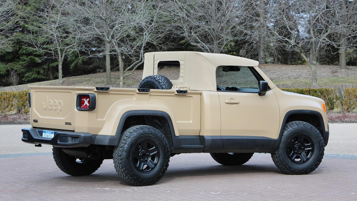jeep comanche trasera