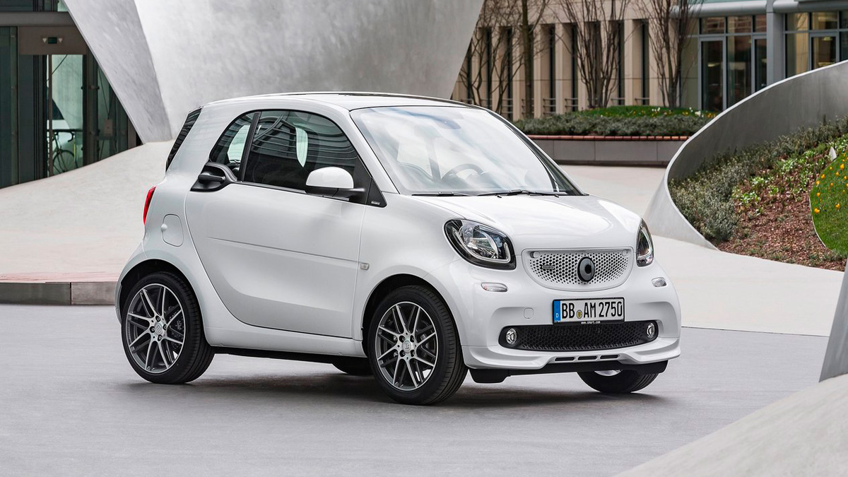 2021 Smart Fortwo Speed Test