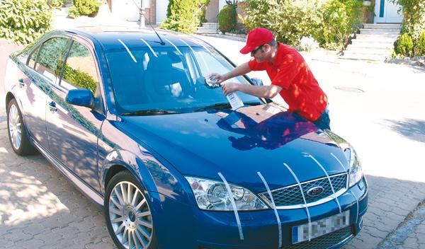 C mo limpiar los mosquitos del coche - Limpiar el interior del coche ...