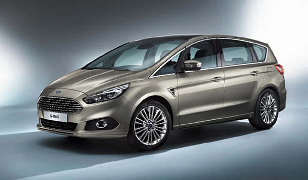 coches maleteros más grandes Ford S-Max