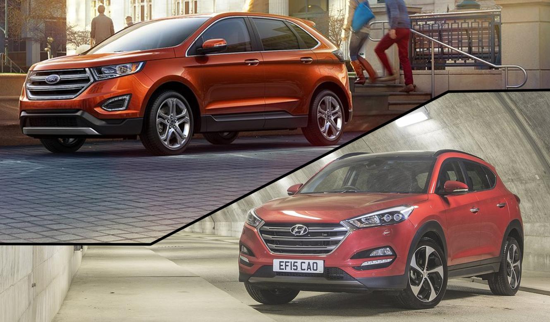 Cual Es Mejor Ford Edge O Hyundai Tucson Autobild Es