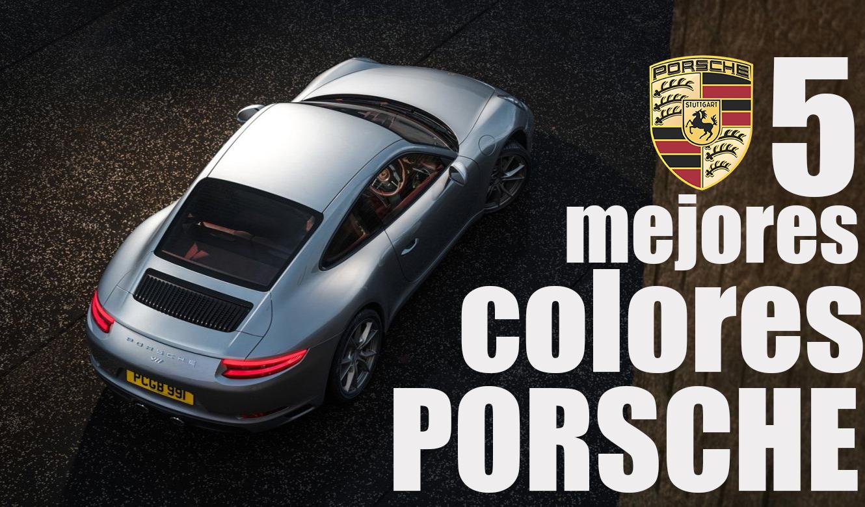 Los 5 mejores colores para pintar un porsche for Los mejores colores para pintar