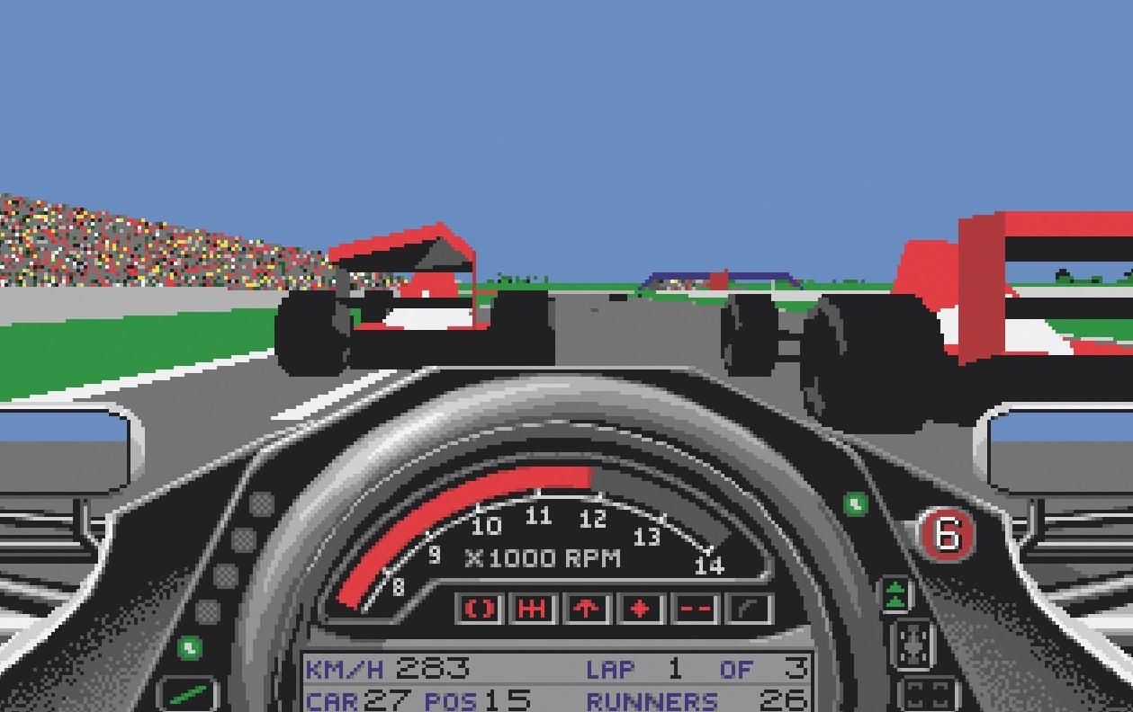 Formula One: Grand Prix (Geoff Crammond)