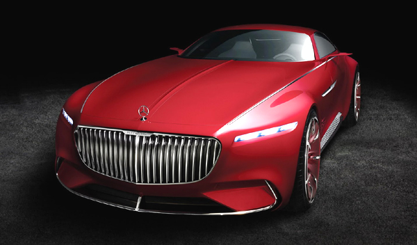 Vision Mercedes-Maybach 6 delantera