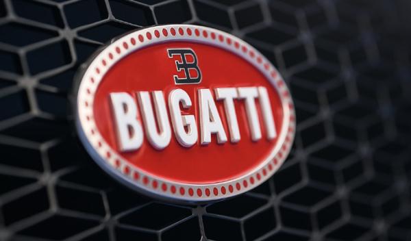 Logo marca coche Bugatti
