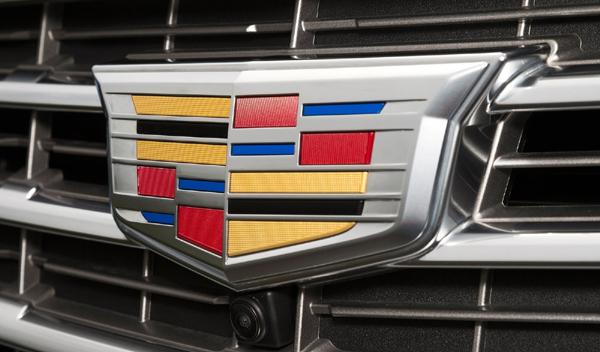Logo marca coche Cadillac