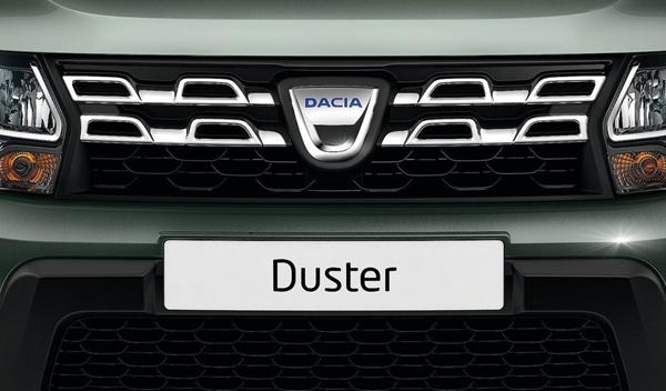 Logo marca coche Dacia