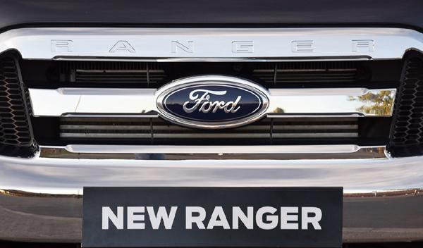 Logo marca coche Ford