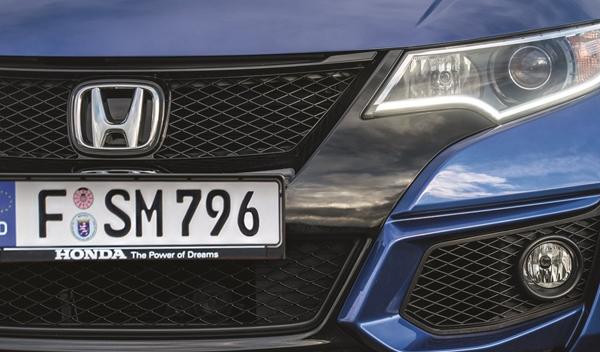 Logo marca coche Honda