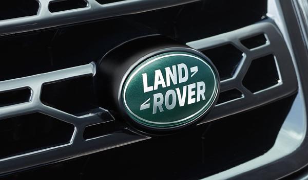 Logo marca coche Land Rover