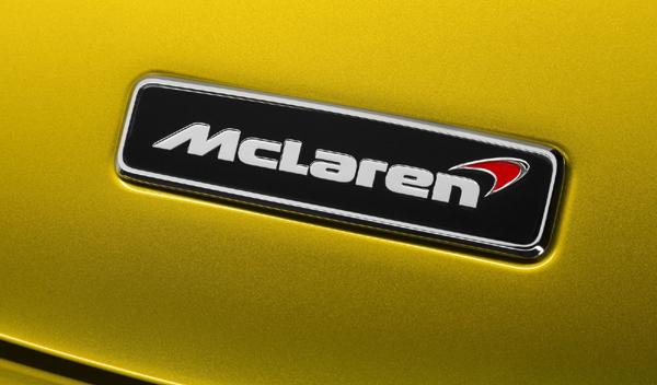 Logo marca coche McLaren