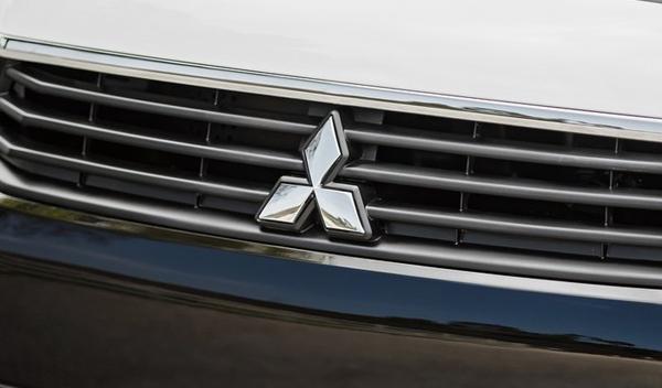 Logo marca coche Mitsubishi