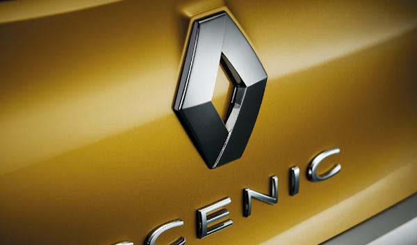 Logo marca coche Renault