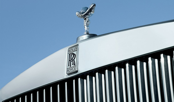 Logo marca coche Rolls-Royce