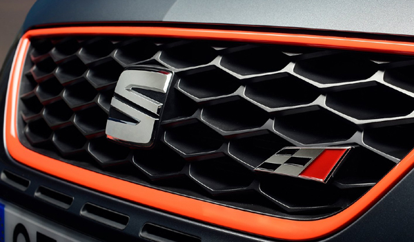 Logo marca coche SEAT