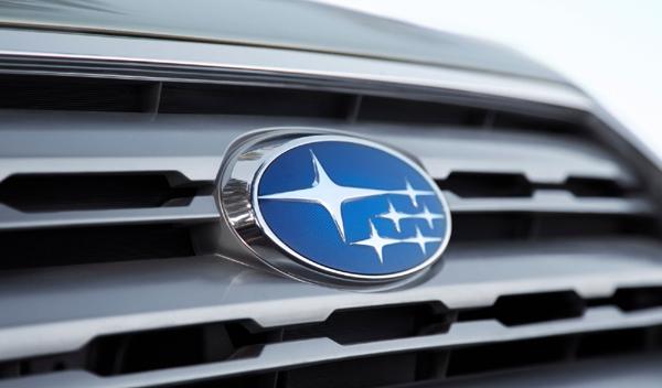 Logo marca coche Subaru