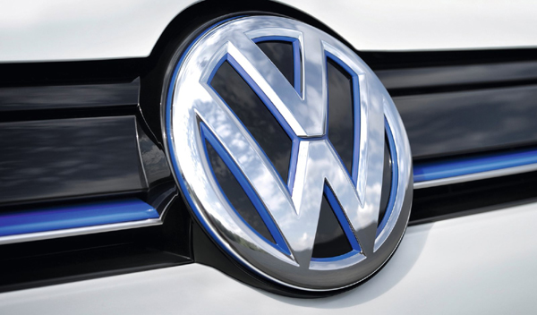 Logo marca coche Volkswagen