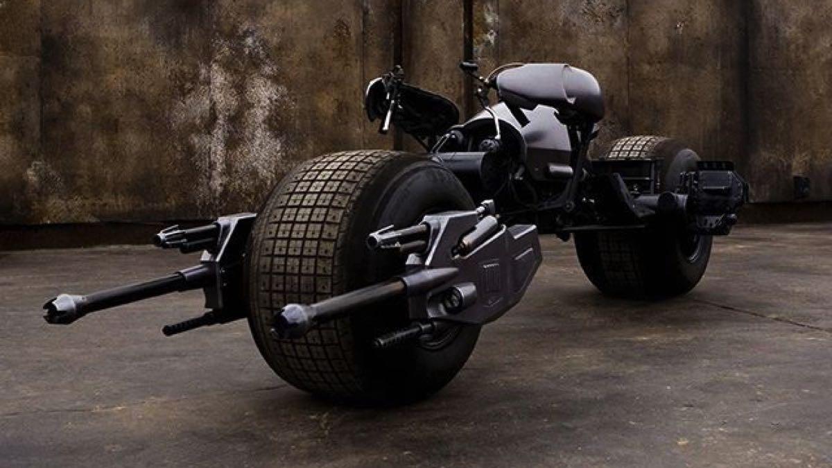 La Moto De Batman A Subasta A Precio De Serie 7