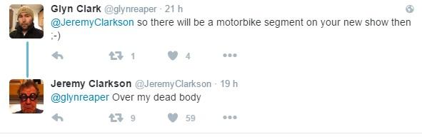 Respuesta Clarkson Twitter