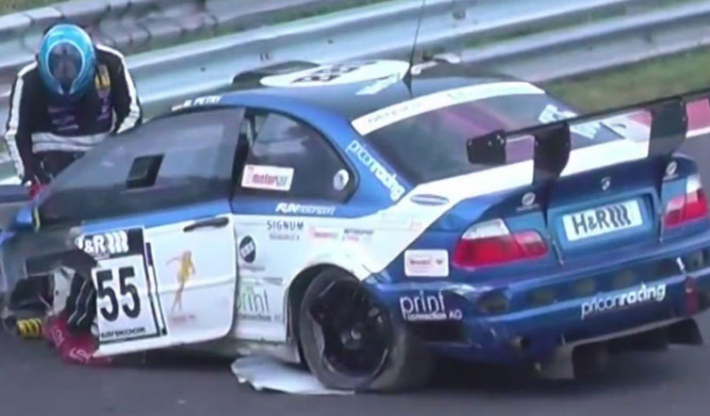 Accidente De Dos Bmw M3 En Nurburgring Autobild Es