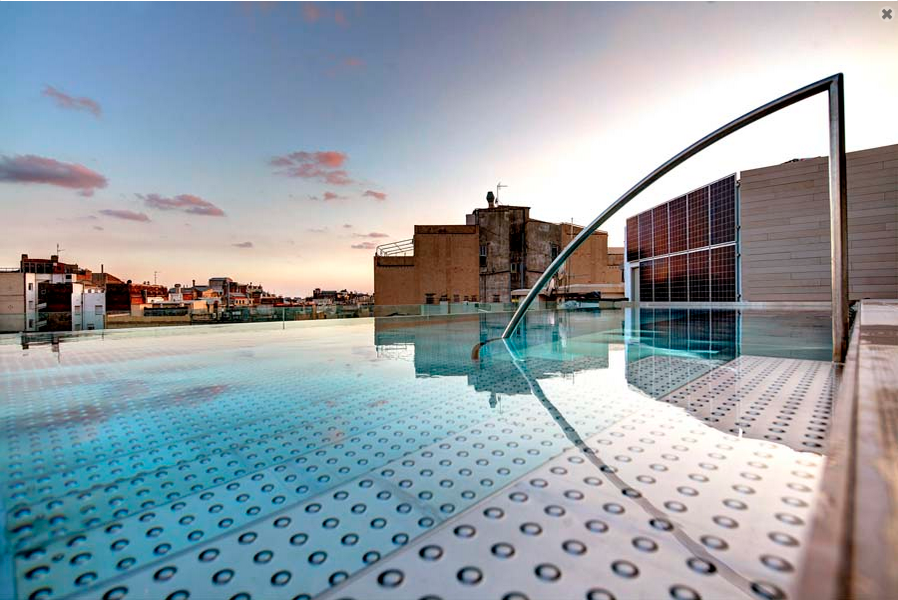 Los cinco mejores hoteles de lujo en barcelona for Hotel avec piscine new york