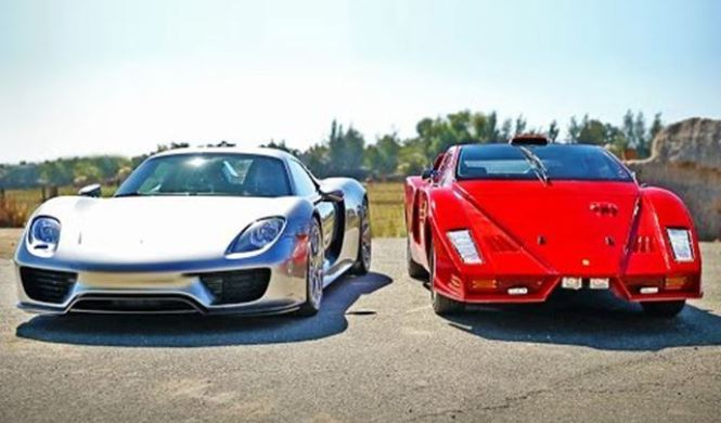 v deo porsche 918 spyder vs ferrari enzo o casi. Black Bedroom Furniture Sets. Home Design Ideas