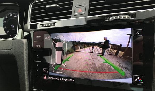 Nuevo VW Golf 2017 display consola central