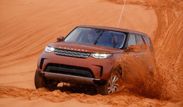 Land Rover Discovery 2017 dunas