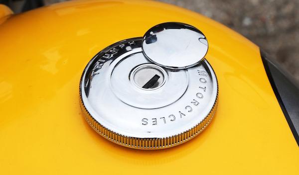 Triumph Street Cup Tapón depósito combustible