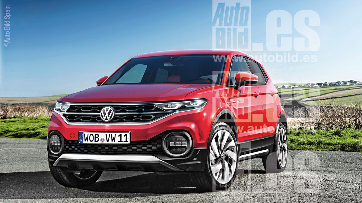 volkswagen t cross el polo suv llegar en 2018. Black Bedroom Furniture Sets. Home Design Ideas