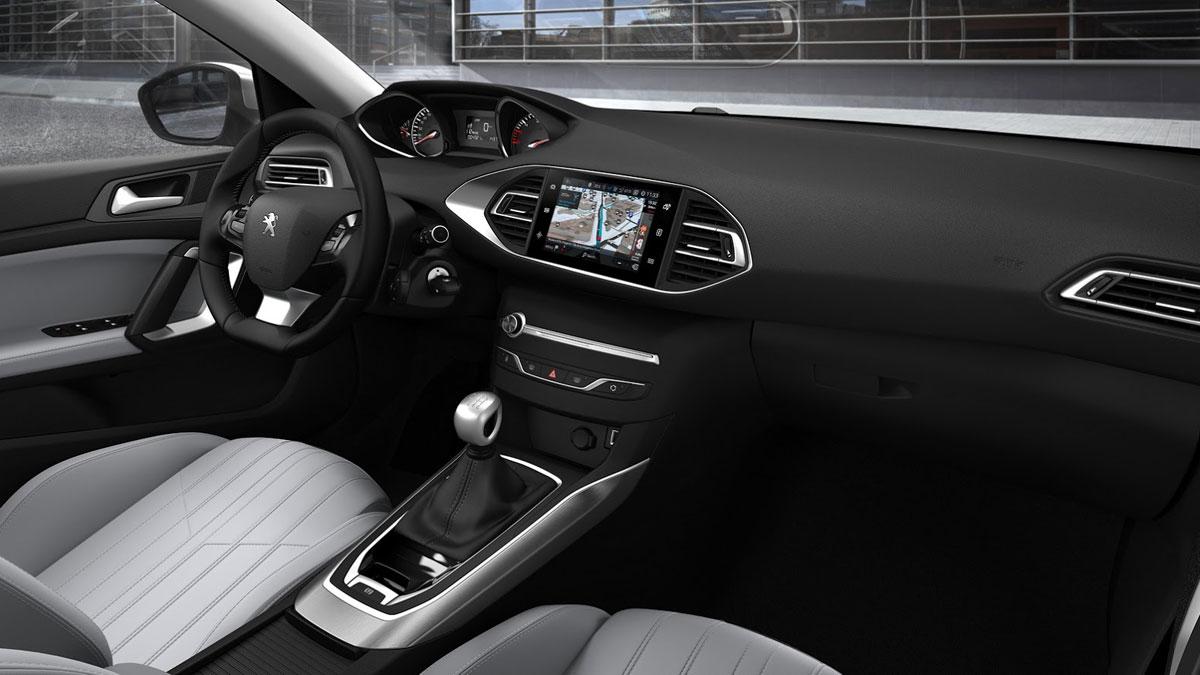 Peugeot 308 2017 interior