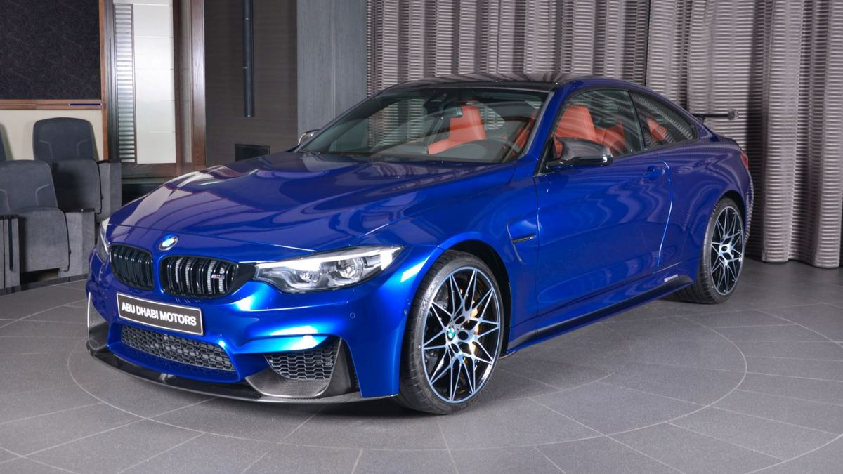 Espectacular Este BMW M4 En San Marino Blue Autobildes