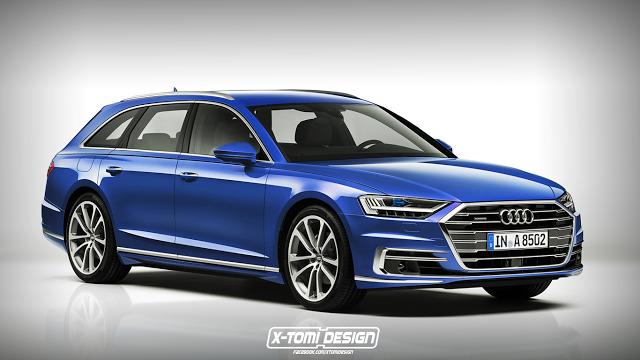 Audi S8 Avant render