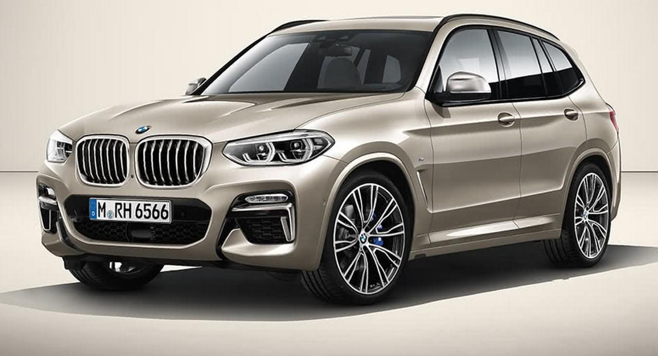 BMW X5 render