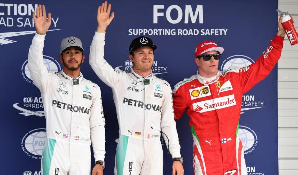 Clasificación GP Japón F1: Rosberg, 'pole' por 13 milésimas